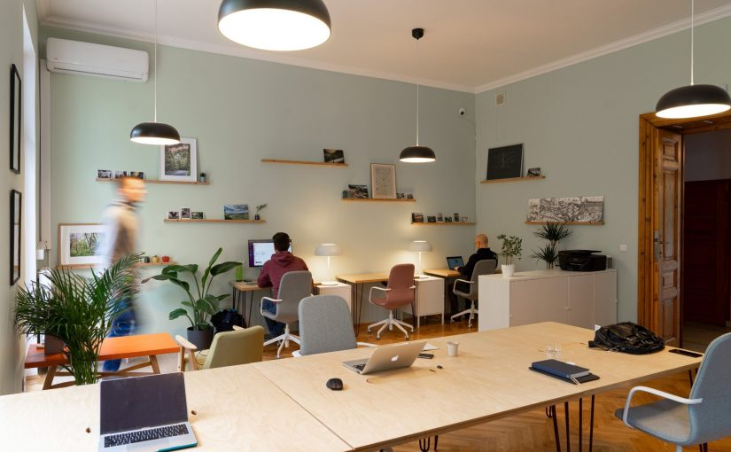 The future of flexible space, returning to work.