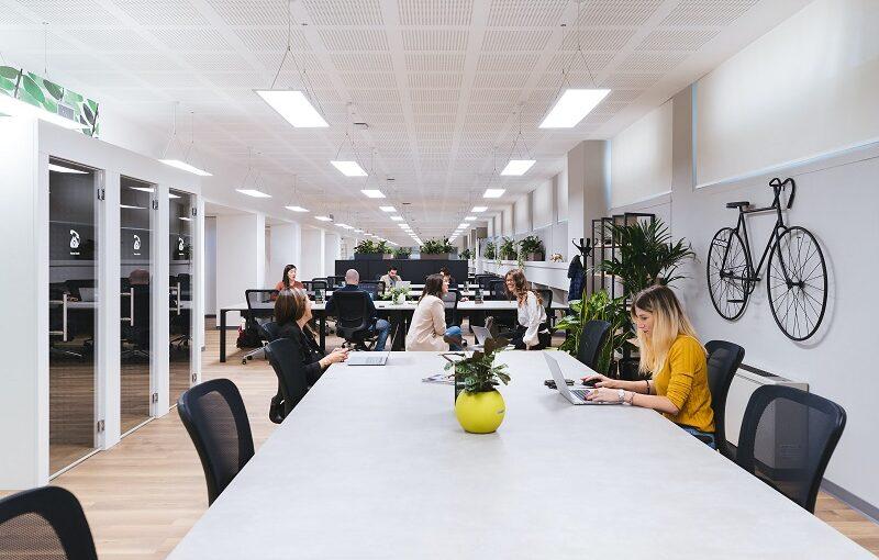 hot desk space in London