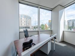 Desk Private Corner Office